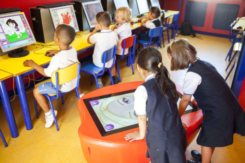 1 aulas del colegio entrenaranjos international school