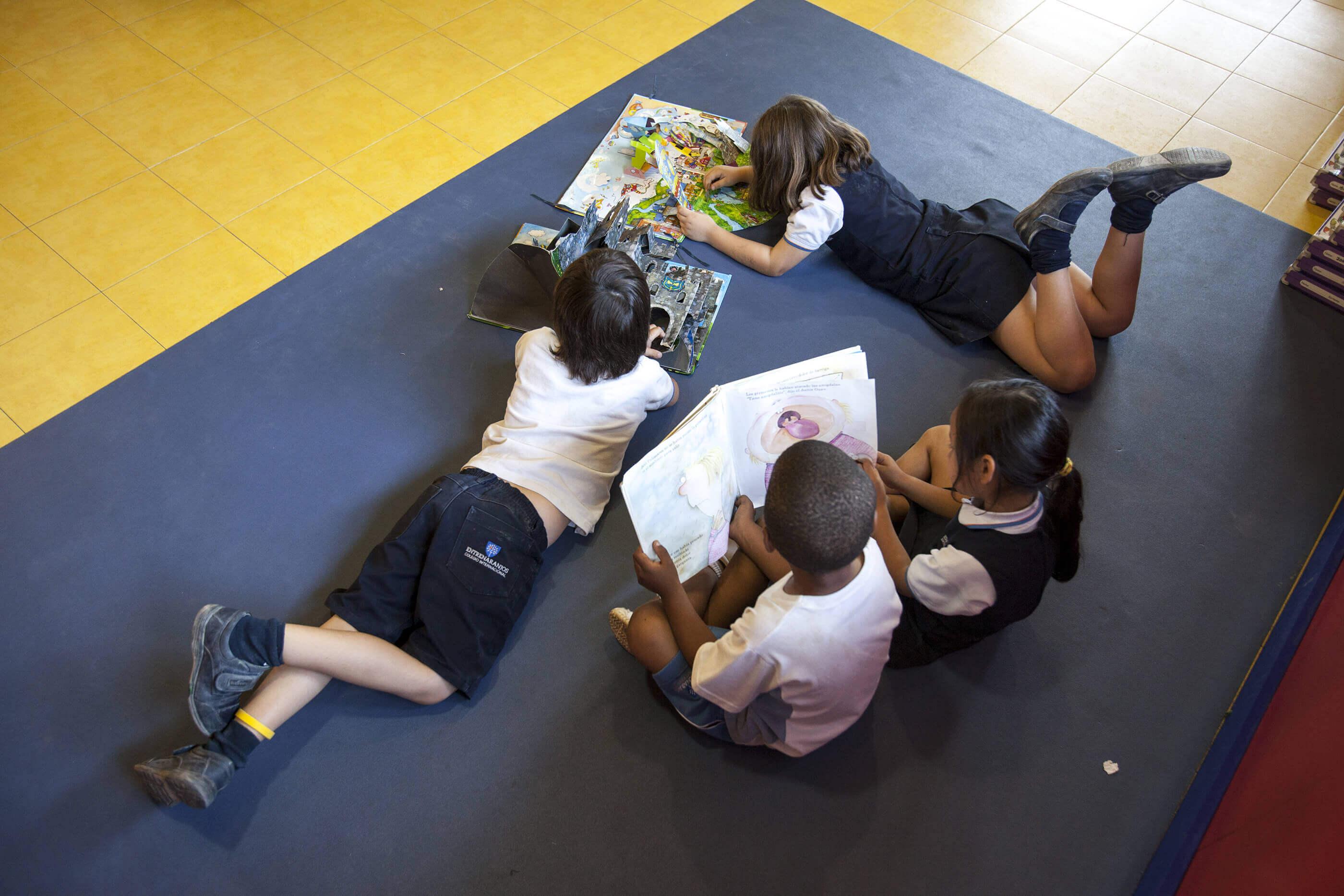 5 aulas del colegio entrenaranjos international school