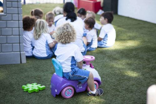 educación infantil del colegio entrenaranjos international school
