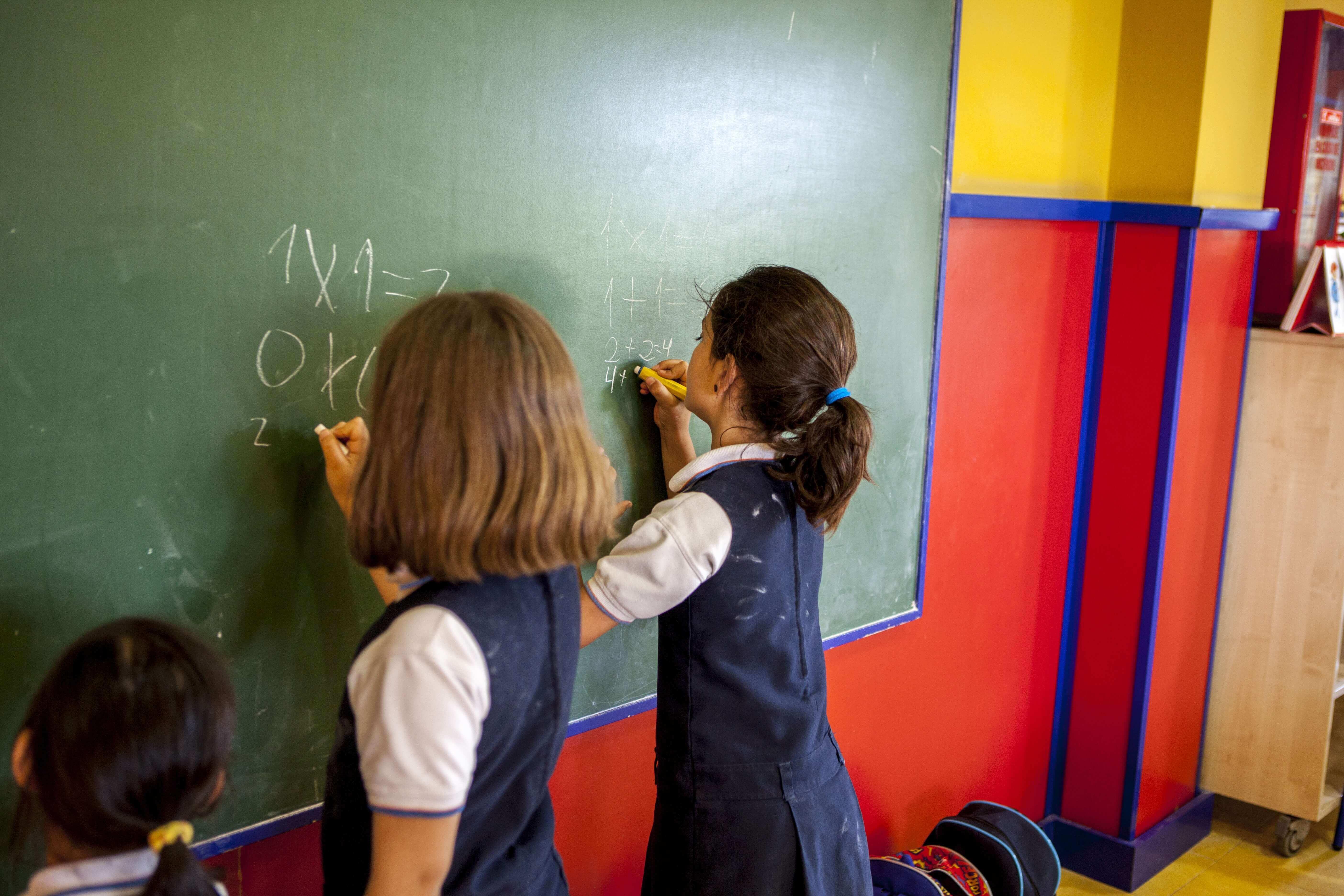 infantil del colegio entrenaranjos international school